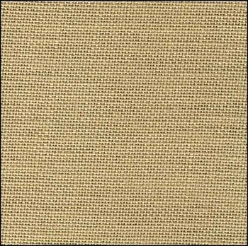 """Zweigart 40ct Newcastle Linen-18x27"""" Needlework Fabric - Summer Khaki"""