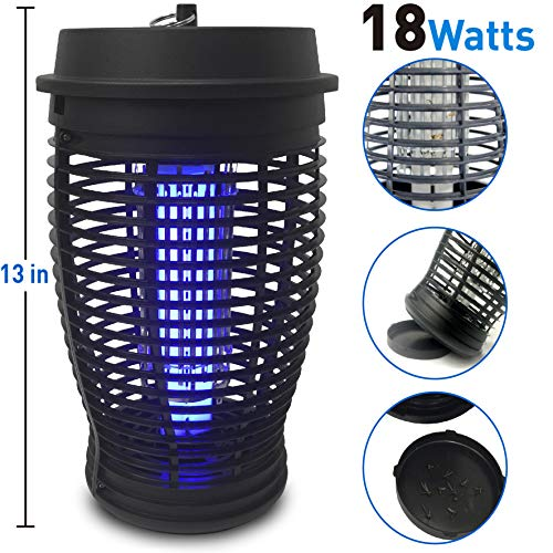 EasyGoProducts EasyGo Zapper Mosquito Bug Killer Trap-18, 18 Watts