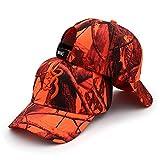 WEMAO Colori Sport Unisex Berretto Mimetico da Campeggio Browning Baseball Caccia Berretti da Pesca Giungla Tattica Escursionismo Camo Cappelli-MO4