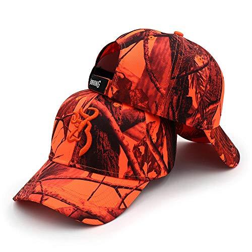 WEMAO Cappello Alta visibilita Caccia Cappello da Baseball,Hip Hop Camping Cappello Sport Unisex...