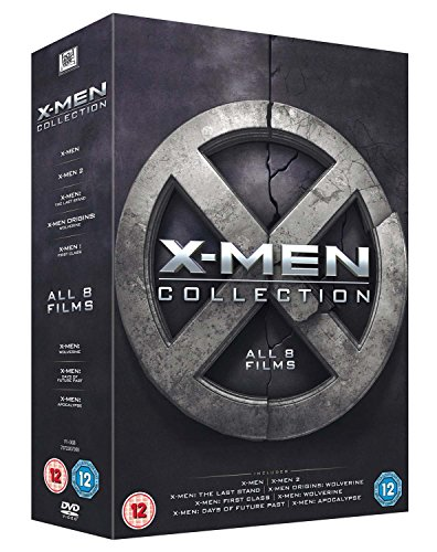 X-Men 8 Film Collection DVD [UK Import]