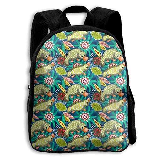 XaMiner Mochila Tropical Platypus Toddler Backpack Mochilas