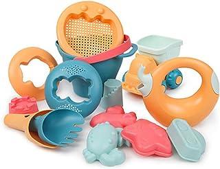 ألعاب حمام سباحة صيفية محمولة للأطفال على الشاطئ من ليكوجيل 14 قطعة متعددة الاستخدامات بأشكال كرتونية لطيفة وآمنة على الرم...