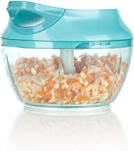 Ourokhome Mini Garlic Chopper Grinder – Portable Baby Food Masher for Vegetables,..
