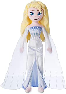 Disney Elsa The Snow Queen Plush Doll – Frozen 2 – Medium – 18`` inches