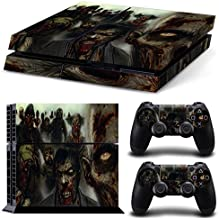 GoldenDeal PS4 Console and DualShock 4 Controller Skin Set - Zombie Apocalypse - PlayStation 4 Vinyl