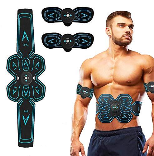 ROOTOK Electroestimulador Muscular Abdominales,Masajeador El