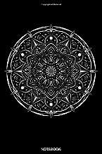 Notebook: Spiritual Notebook Posture Yoga Lover Gift for Student Asana Yoga Teacher Present Chakra Tree Zen Sat Nam Planner Kundalini Journal ... Memo I Size 6 x 9 I Ruled Paper I 120 Pages
