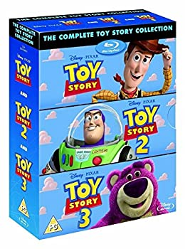 The Complete Toy Story Collection 1 2 3 [Blu-ray Box Set Disney]