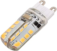 New Lon0167 AC 220V Featured 3W G9 2835SMD reliable efficacy LED Corn Light Bulb 32-LED Silicone Lamp Warm White(id:c32 d2...