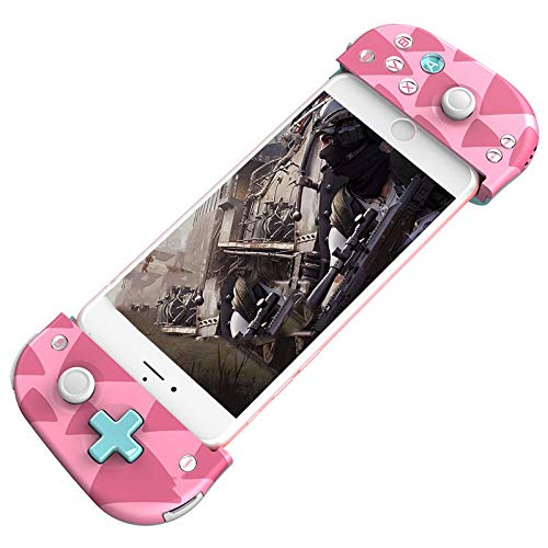 QCHEA Controladores Bluetooth Handheld Wireless Game Physics Aid Stretching Mini (Color : Pink)