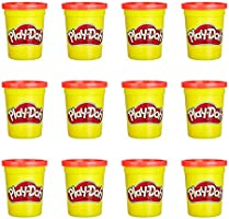 Play-Doh 12 Pack Case Non-Toxic Modeling Compound, 4-Ounce Cans