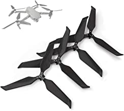 RCGEEK Compatible with DJI Mavic 2 Pro Carbon Fiber Propellers 8743 Quiet Props 3 Blades Strong Pulling Force Quick-Release Foldable Compatible with DJI Mavic 2 Pro Mavic 2 Zoom Drone, 2 Pairs
