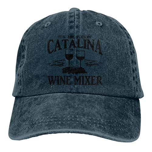 Fuckin' Catalina Wine Mixer Summer Classic Vintage Adjustable Sports for Outdoor Sun Mesh Trucker Duck Tongue Casquette Fashion Hat Men Women Baseball Plain Hat Hats