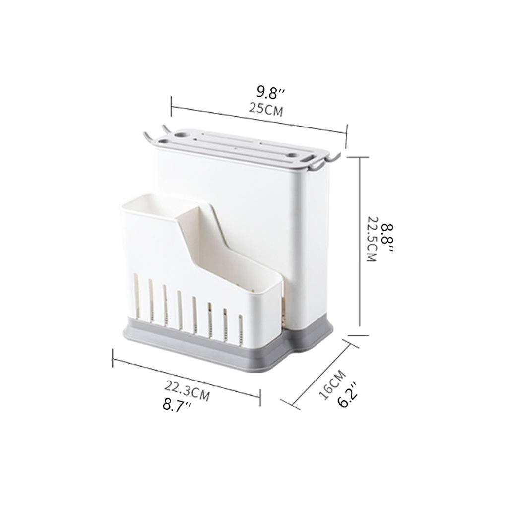 Compra Xiaoli Multifuncional Accesorios de Cocina PP Hueco plástico Cuchillo de Almacenamiento de Titular Soporte de Ventana Bloque de Cuchillos Cuchillo en Rack (Color : Double) en Amazon.es