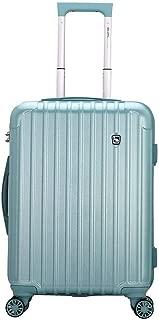 WHPSTZ Suitcase Suitcase Suitcase Travel Business Boarding Caster Outdoor Waterproof Trolley Case Waterproof and Lightweight Trolley case (Color : Sky Blue, Size : 39x24x51cm)