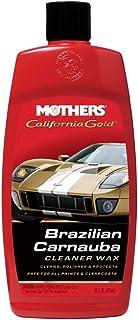 Mothers 05701 California Gold Brazilian Carnauba Cleaner Liquid Wax - 16 oz.