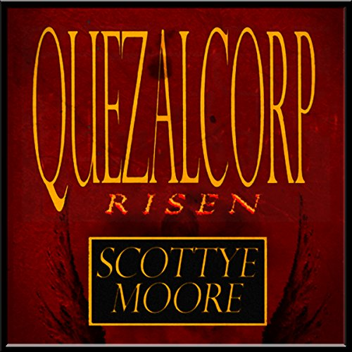 Quezalcorp Risen audiobook cover art