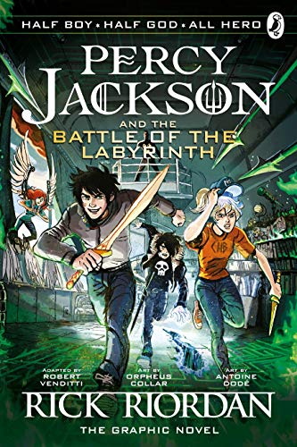 The Battle Of The Labyrinth: The Graphic Novel (Percy Jackson 4)
