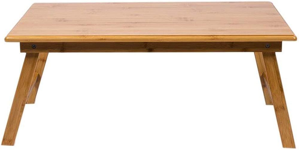Table De Petit Déjeuner Pliable Multi-Fonction pour Ordinateur Portable Table en Bambou 3 Taille (Taille   80cm)