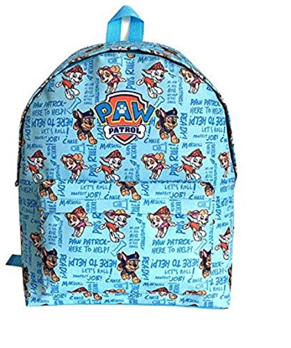 Paw Patrol Boys Backpack for Kids Rucksack Chase Marshall Rubble School Bag Holiday