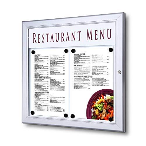 UNIPOS® Vitrina porta menú exterior (2XA4)