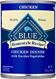 Blue Buffalo, Canned Dog Food, Homestyle Recipe, Chicken Dinner, with Garden Vegetables, 12.5 Oz