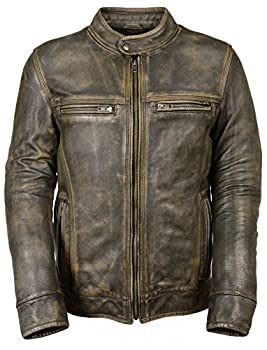 Best distressed leather jacket Reviews