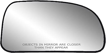 Fit System 30188 Passenger Side Heated Replacement Mirror Glass with Backing Plate