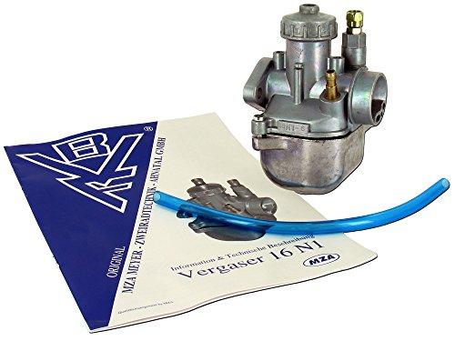 Vergaser BVF 16 N1-6 für Simson KR51/1,SR4-2,SR4-4
