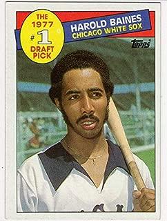 Harold Baines 1977#1 Draft Pick Topps Baseball Card-HOF-Chicago White Sox