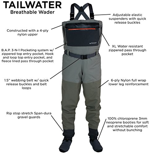2111145-XL Tailwater Breathable Waders