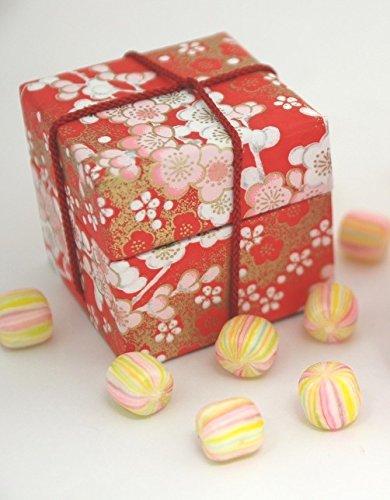 ひなまつり 雛小箱 赤小箱