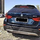 Coche ABS Alerón Traserode labio de techo para BMW X1 E84 2010-2015 Hatchback Spoiler, Trasero Techo Maletero Spoiler Cola Lip Spoiler