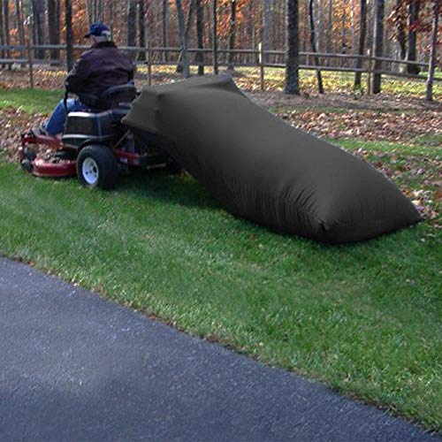 MAYTHON Lawn Tractor Grass Catcher Bag Leaf Bag Capacity 54 Cubic Feet Black