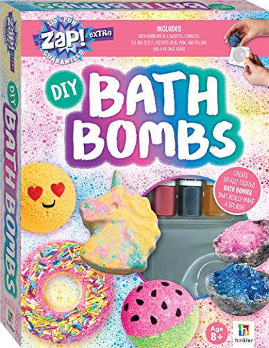 DIY Bath Bomb Kit-This Complete Kit includes all you need to create Bath Bombs that really make a Splash!
