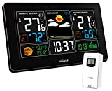 Youshiko YC9441 (Official 2020 UK Version) Wireless Weather Station, Radio Controlled Clock, Indoor