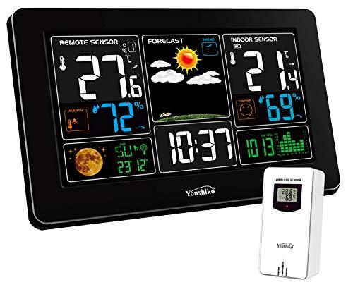 Youshiko YC9441 (Official 2021 UK Version) Wireless Weather Station, Radio...