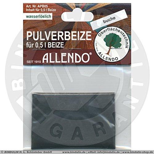 Pulverbeize (5 g Beutel) für 0,5 Liter Beize Holzton (nussbaum-dunkel)