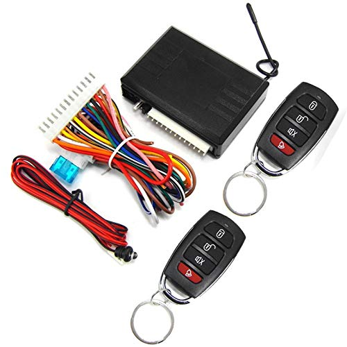 ghfcffdghrdshdfh Vehicle Keyless Entry System Universal 12V auto remote kit anti-heft deurslot