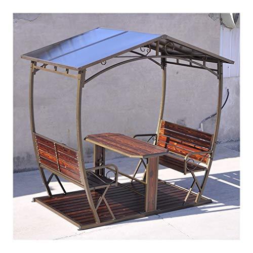 HLZY Garden Furniture Gazebo Patio Gazebo with Desk Outdoor Canopy Gazebo Backyard Creations, Gazebo Shade for Patio Outdoor Garden Events Outdoor Canopy