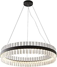 Ceiling Lighting, Led Pendant Lamp Dimmable, Ceiling-Chandelier Light Modern Design, LED Hanging Chandelier Fixture with W...