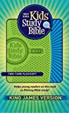 KJV Kids Study Bible: King James Version, Two-Tone Flexisoft Green/Blue