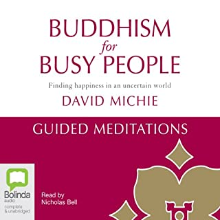 Buddhism for Busy People: Guided Meditations cover art