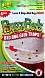 Bed Bug Trap - BuggyBeds Home Glue Traps (4...