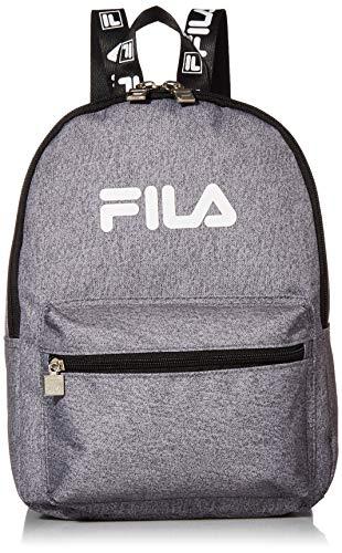 FILA Damen Hailee 13-in Backpack modischer Rucksack, grau meliert, Einheitsgröße