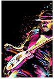 zhinan Carlos Santana Poster, dekoratives Gemälde,
