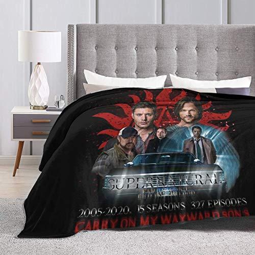 supernatural merchandise blanket - 6
