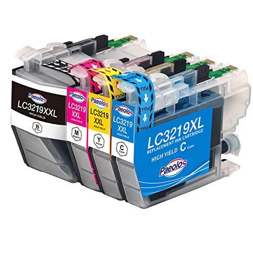 Paeolos 3219XL Cartuchos de Tinta Compatible para Brother LC3219 XL LC3217 para Brother MFC-J5330DW MFC-J5335DW MFC-J5730DW MFC-J5930DW MFC-J6530DW MFC-J6930DW MFC-J6935DW