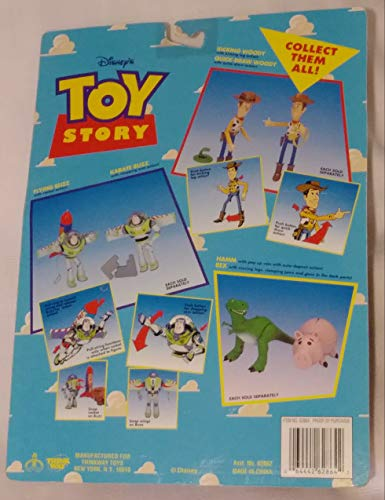 Toy Story - Buzz Lightyear with Flying Rocket Action by Disney